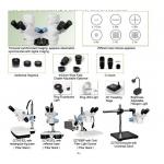 SOIF SZ 760-T2/L Trinoküler Stereozoom Mikroskop-50x