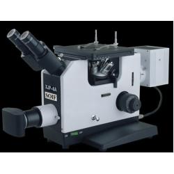 SOIF XJP-6A Model Trinoküler Invert Metal Mikroskobu-Plan Achromat-1250x-
